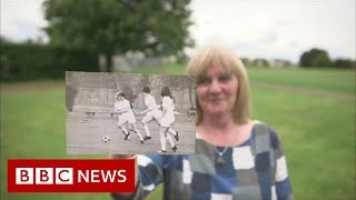 The women banned from playing football on the world stage, but did it anyway - BBC News