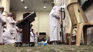 الشيخ الدكتور محمد سالم الزهراني حفظه الله من صلاة التراويح رمضان ١٤٣٩هـ
