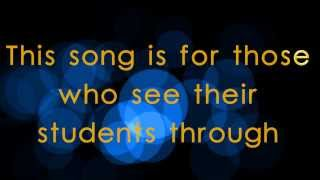 [LYRICS] You Have Made A Difference - A Teacher appreciation song