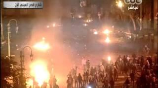 حرب في شارع قصر العيني بين الجيش والشعب