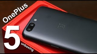 OnePlus 5 Unboxing (India 8GB/128GB) - गजब का smartphone