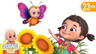 Titli Udi - Titli Rani hindi rhymes for children | nursery rhymes hindi kavita collection jugnu kids