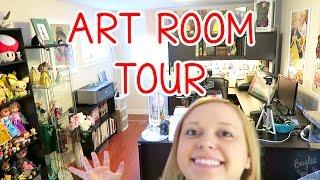 ART ROOM TOUR 2016