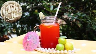 DIY- How To Make Easy Strawberry Lemonade