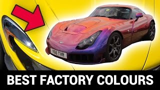 The 8 Best Factory Colours Ever Offered