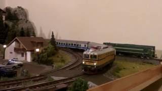 ACME lokomotiva SŽ 342-004 in SŽ 661-032 sound