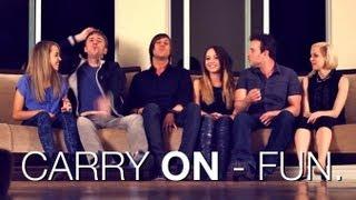 Carry On - Fun |  Ali Brustofski Madilyn Bailey Peter Hollens J.Rice Skylar Dayne Runaground Cover