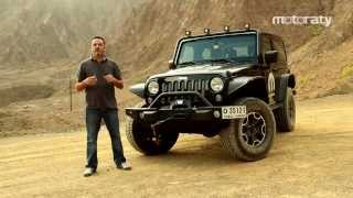 Jeep Wrangler Test Drive 2014 تجربة قيادة سيارة جيب رانجلر صحارا
