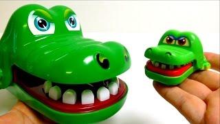 Mini Croco Doc - Dentist Toy with Big Croco Mom