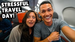 CRAZY 27 Hour Travel Day   MEXICO to JORDAN   4 Flights 4 Lounges