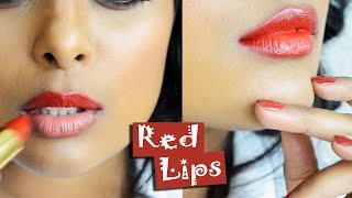 How to apply Red Lipstick Like A Pro Makeup Artist:Tips & Tricks