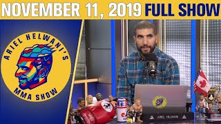 Nick Diaz, Stipe Miocic, Tyron Woodley  | Ariel Helwani's MMA Show (November 11, 2019) | ESPN MMA