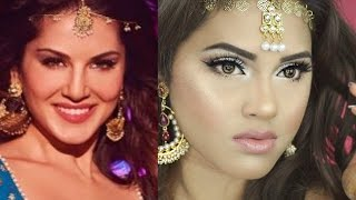 Laila Main Laila | Re-creation of Sunny Leone's Makeup & Hair| MakeupByAzmeree