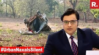 Will You Talk Or Wipe Out Maoists? | The Debate With Arnab Goswami