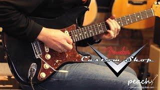 Fender Custom Shop 59 Journeyman Peach Anniversary Strat Black