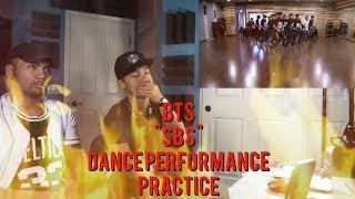 BTS - SBS - Dance Performance Practice (REACTION VIDEO)