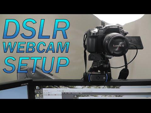 How to Use a DSLR as a Webcam BEST Setup imho Panasonic GH3