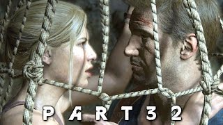 Uncharted 4 A Thief's End Walkthrough Gameplay Part 32 - Avery's Descent (PS4)