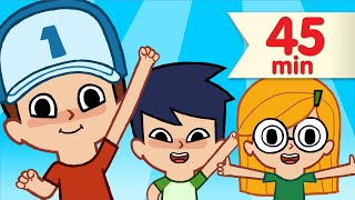 Hello Song + More | Kids Songs and Nursery Rhymes | Super Simple Songs