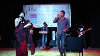 শিল্পী ফেরদৌস ও মৌসুমীর ডুয়েট গান । শিল্পকলা একাডেমী, ঢাকা