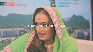 #JLF2016 – Laxmi Narayan Tripathi on Ethnic Transgender Community at JLF