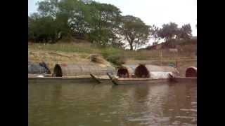Bangladeshi boat of Bandarban