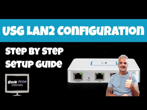 How To Configure The Second LAN Port On A USG