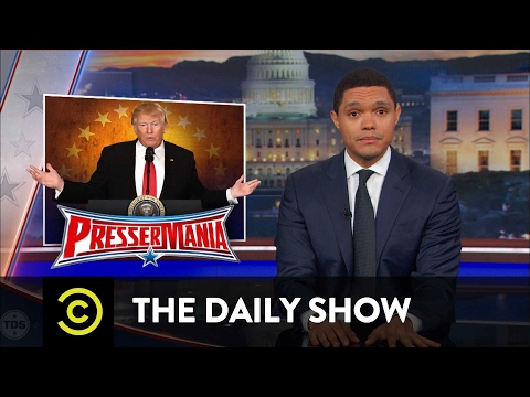 President Trump s Bats t Press Conference The Daily Show