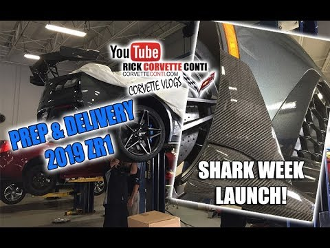 Xxx Mp4 PREP DELIVERY 2019 ZR1 SHARK WEEK LAUNCH THANK YOU RANDY In MICHIGAN 3gp Sex
