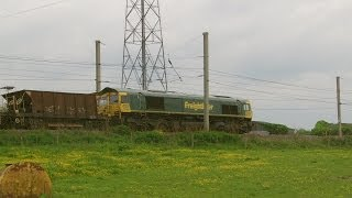 Half an Hour at (35) - Vulcan Village 24.5.2014 - Newton le Willows Winwick Junction