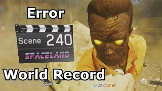Round 240 IW Zombies In Spaceland World Record PS4