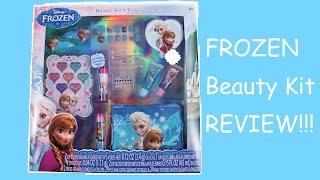 FROZEN MAKEUP BEAUTY KIT FROZEN TOY Disney Princess Elsa Anna Olaf -- Beauty Kit Unboxing