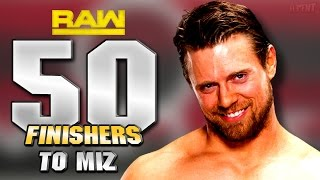 WWE 2K16 - 50 Finishers To The Miz!
