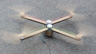 How to make a drone - rubber band drone - cardboard drone