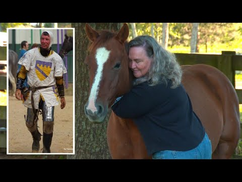 Xxx Mp4 Widow Hugs Horse Her Late Husband Was Riding When He Was Impaled By Spear 3gp Sex