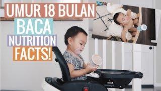 Vlog #185 | TODDLER BACA NUTRITION FACTS?! ANAK INI TIDUR DI MANA SAJA🤣 (cuteness overload)
