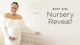 Tia Mowry's Baby Girl Nursery Reveal   Quick Fix