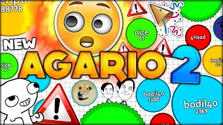 AGAR.IO 2!!!! THE MOST ANTICIPATED SEQUEL IS HERE! (Agario 2.0 - Funny Moments)