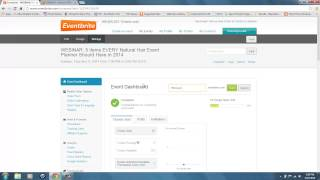 Create and Copy a Shortened URL for Your EventBrite Event
