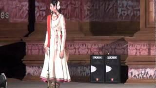 Ragini makkhar Kathak solo in Khajuraho festival 2012 (Part 3)