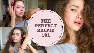 The Perfect Instagram Selfie How To- Makeup, Hair, Pose | Model Tips