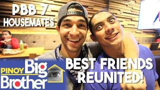 PBB 7 Best Friend Housemates 1st Time Reunite! (ft  Luis Hontiveros)
