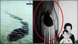 6 PHOTOS Paranormales INEXPLIQUÉES jusqu'à CE JOUR !