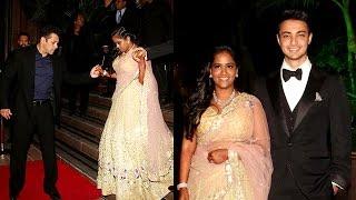 Salman Khan's Sister Arpita Khan and Ayush Sharma Wedding Reception   Uncut Full Event