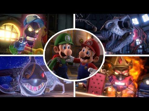 Luigi s Mansion 3 All Bosses No Damage