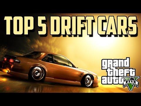 GTA 5: TOP 5 DRIFTING CARS