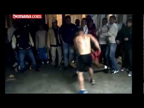 Las peleas de La Picota carcel de maxima seguridad.