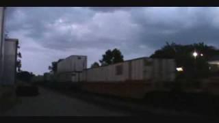 A WB Intermodal Train Running Through the Red Signal!