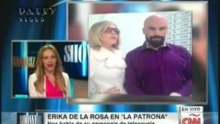 Entrevista en CNN Español a Erika de la Rosa para Showbiz