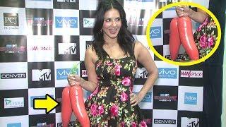 OMG! What Is Sunny Leone Holding At MTV Splitsvilla Season 10 Promotions?